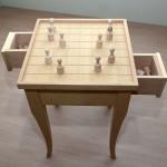 Τραπεζάκι καφενείου για σκάκι και ντάμα