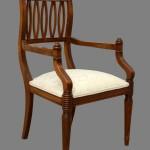Καρέκλα από μασιφ ξύλο με τορναριστά πόδια (κωδ. κ 302)