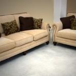 Τριθέσιος διθέσιος καναπές με καμπαράδες ( κωδ Σ 105)